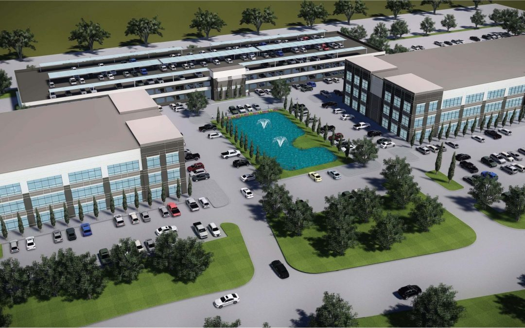 West Houston Construction Zone: Business Parks & Health Care